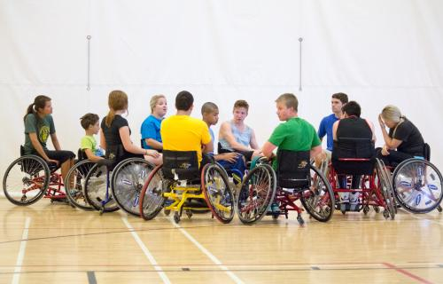 Junior Wheelchair Sports Camp
